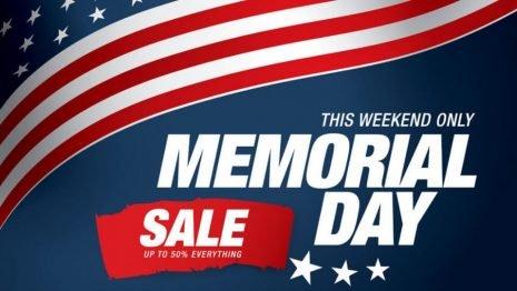 2018年美國陣亡將士紀念日(國殤日)折扣碼優惠整理|Memorial Day Sales 2018