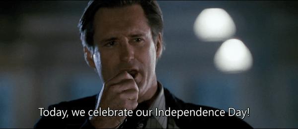 《ID4星際終結者》經典台詞畫面-總統演說