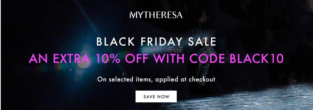 2019 MYTHERESA 黑五折扣再加碼,精選折扣品打9折
