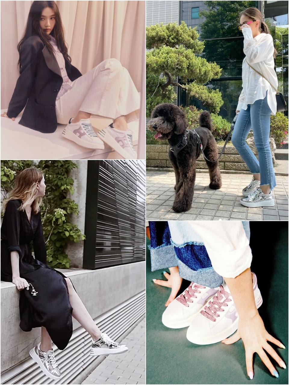 2021春夏新款 HOGAN Rebel 運動鞋