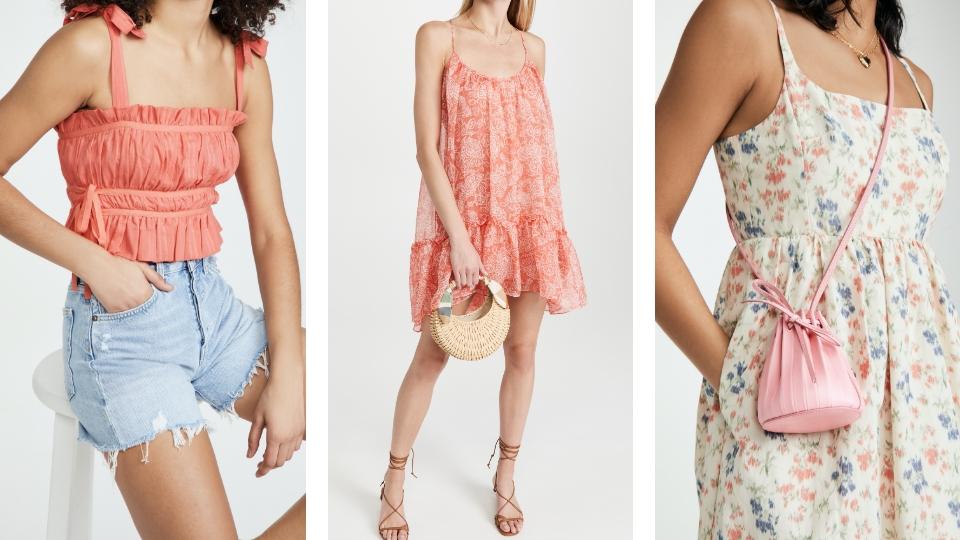 夏天約會粉色穿搭單品推薦:七夕情人節約會要讓對方眼前為之一亮